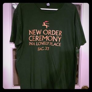 Other - New Order graphic tee